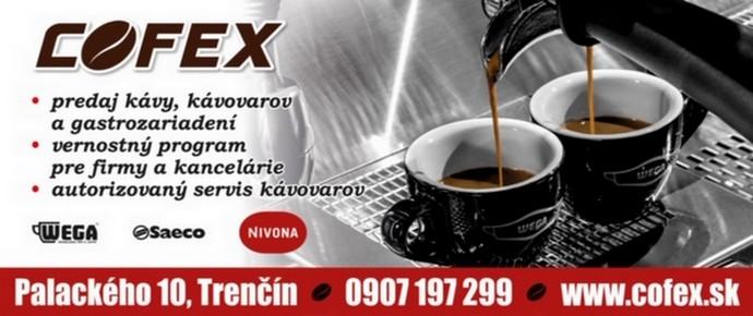 Cofex - predaj k�vy, predaj k�vovarov a gastrozariaden�.